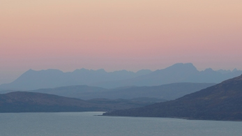 Skye Cuillin Ridge - Dawn